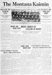 The Montana Kaimin, October 1, 1914
