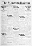 The Montana Kaimin, October 15, 1914