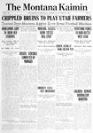 The Montana Kaimin, October 29, 1914