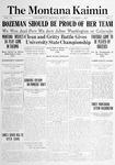 The Montana Kaimin, November 12,1914