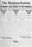 The Montana Kaimin, November 19, 1914