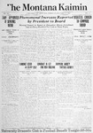 The Montana Kaimin, December 10, 1914