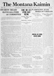 The Montana Kaimin, January 21, 1915