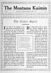 The Montana Kaimin, April 2, 1915