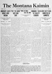 The Montana Kaimin, April 9, 1915