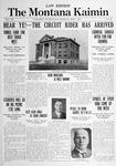 The Montana Kaimin, May 7, 1915