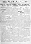 The Montana Kaimin, September 17, 1915