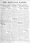 The Montana Kaimin, September 21, 1915