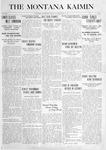 The Montana Kaimin, September 23, 1915