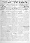 The Montana Kaimin, September 28, 1915