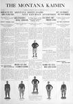 The Montana Kaimin, September 30, 1915