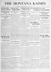 The Montana Kaimin, October 5, 1915
