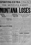 The Montana Kaimin, October 8, 1915