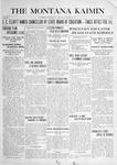 The Montana Kaimin, October 12, 1915