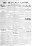 The Montana Kaimin, October 19, 1915