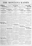 The Montana Kaimin, October 28, 1915