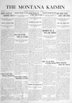 The Montana Kaimin, November 2, 1915