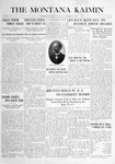The Montana Kaimin, November 9, 1915