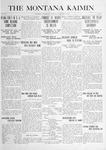 The Montana Kaimin, November 11, 1915