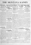 The Montana Kaimin, November 18, 1915