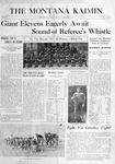 The Montana Kaimin, November 25, 1915