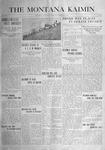 The Montana Kaimin, December 9, 1915