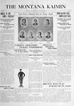 The Montana Kaimin, December 14, 1915