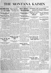 The Montana Kaimin, January 4, 1916
