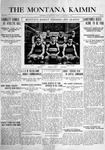 The Montana Kaimin, January 7, 1916
