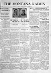 The Montana Kaimin, January 11, 1916