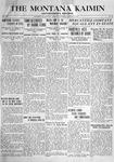 The Montana Kaimin, January 13, 1916