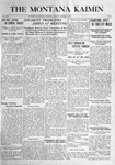 The Montana Kaimin, January 18, 1916