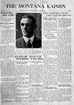 The Montana Kaimin, February 1, 1916