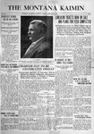 The Montana Kaimin, February 15, 1916