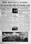 The Montana Kaimin, February 18, 1916