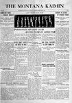 The Montana Kaimin, February 22, 1916