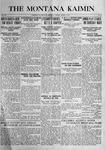 The Montana Kaimin, March 7, 1916