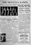 The Montana Kaimin, March 14, 1916