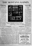 The Montana Kaimin, March 16, 1916
