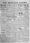 The Montana Kaimin, March 28, 1916