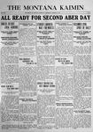The Montana Kaimin, March 30, 1916