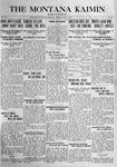 The Montana Kaimin, April 4, 1916