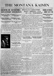 The Montana Kaimin, April 6, 1916