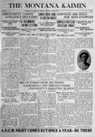 The Montana Kaimin, April 11, 1916