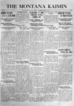 The Montana Kaimin, April 13, 1916