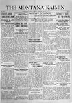 The Montana Kaimin, April 27, 1916