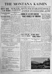 The Montana Kaimin, May 5, 1916