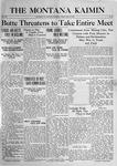 The Montana Kaimin, May 12, 1916
