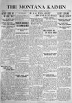The Montana Kaimin, May 18, 1916
