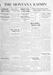 The Montana Kaimin, September 14, 1916